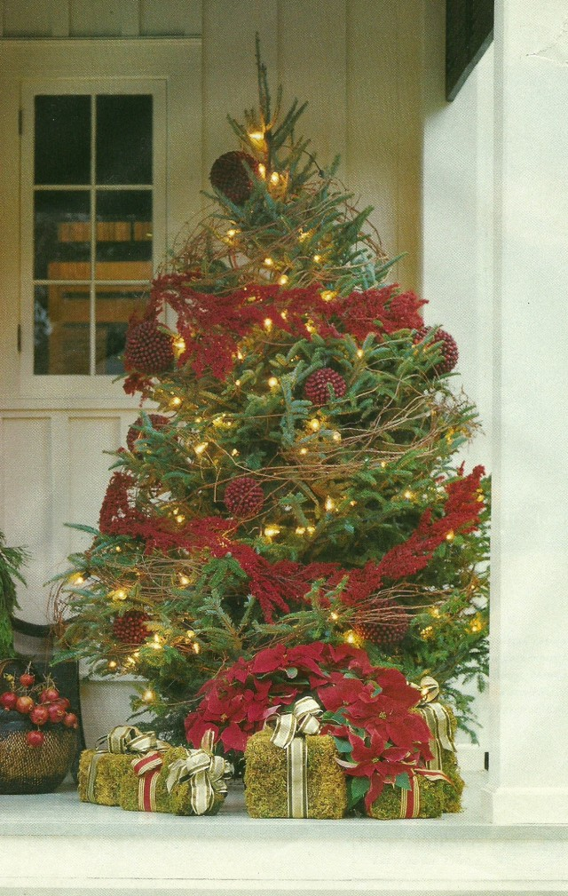 Front Porch Christmas Decorating Ideas Pinterest