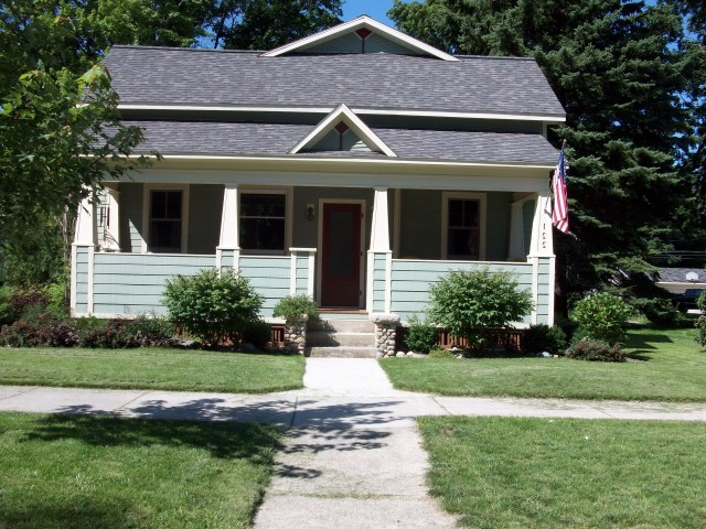 Front Porch Craftsman Style Home