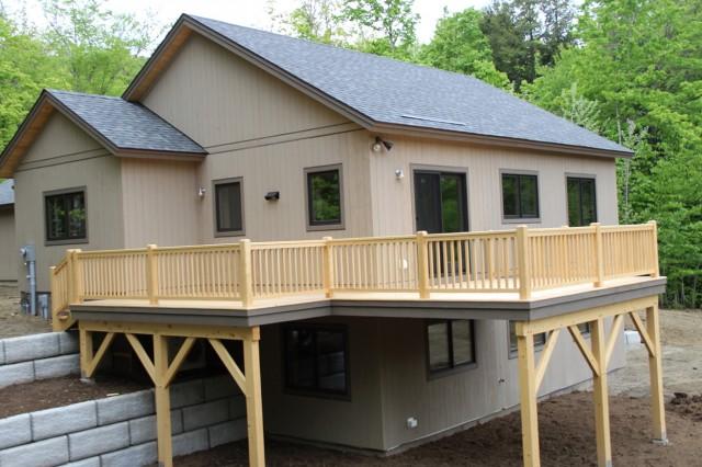 Front Porch Deck Designs