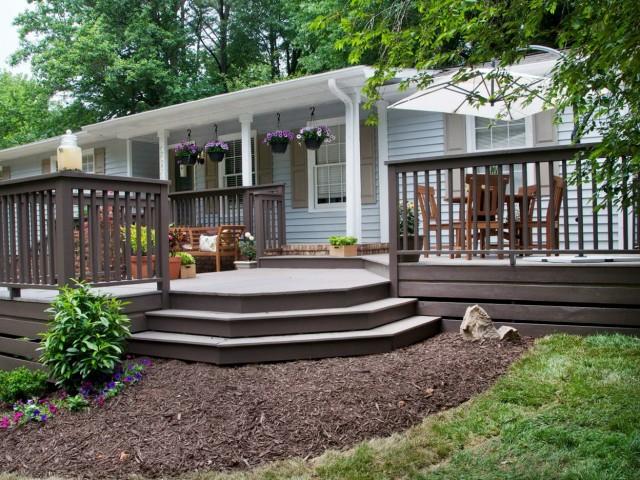 Front Porch Deck Pictures