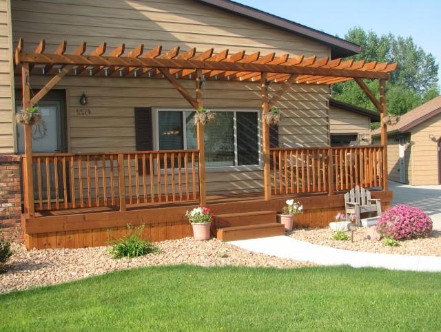 Front Porch Deck Plans