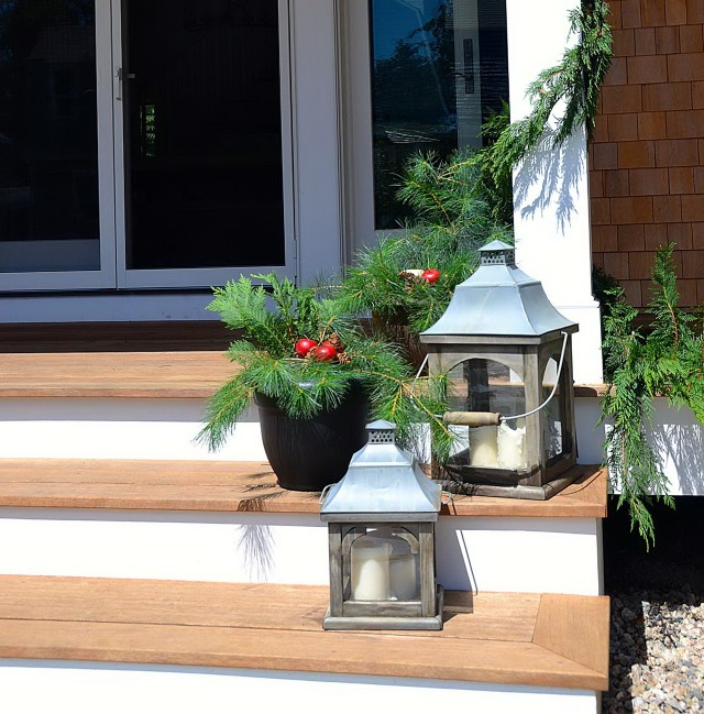 Front Porch Decorating Ideas For Winter