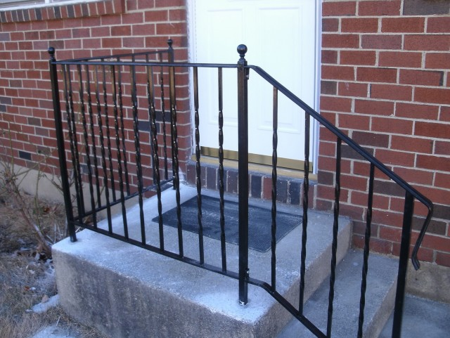 Front Porch Iron Railing Ideas
