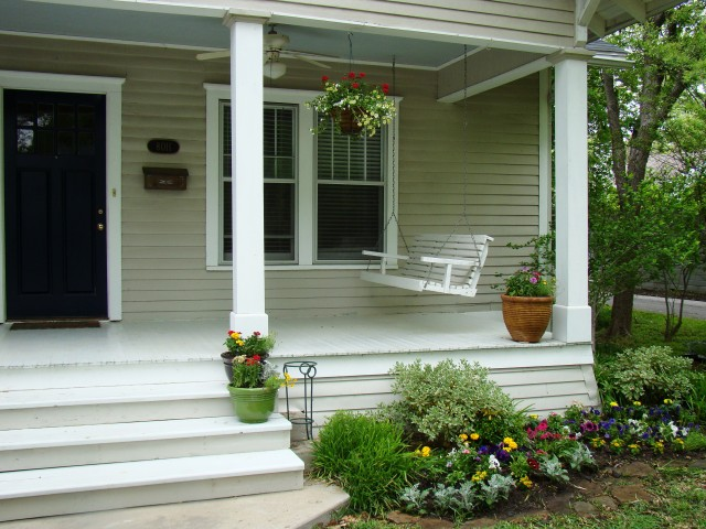Front Porch Makeover Cheap