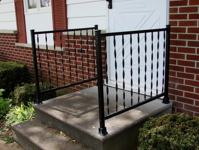 Front Porch Metal Railings