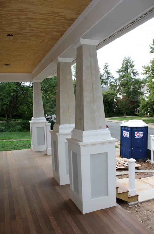 Front Porch Posts Home Depot