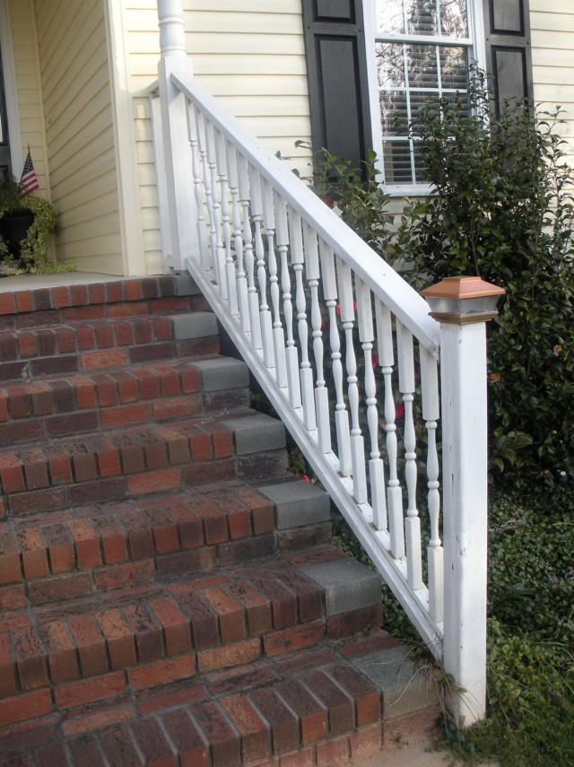 Front Porch Stair Railings