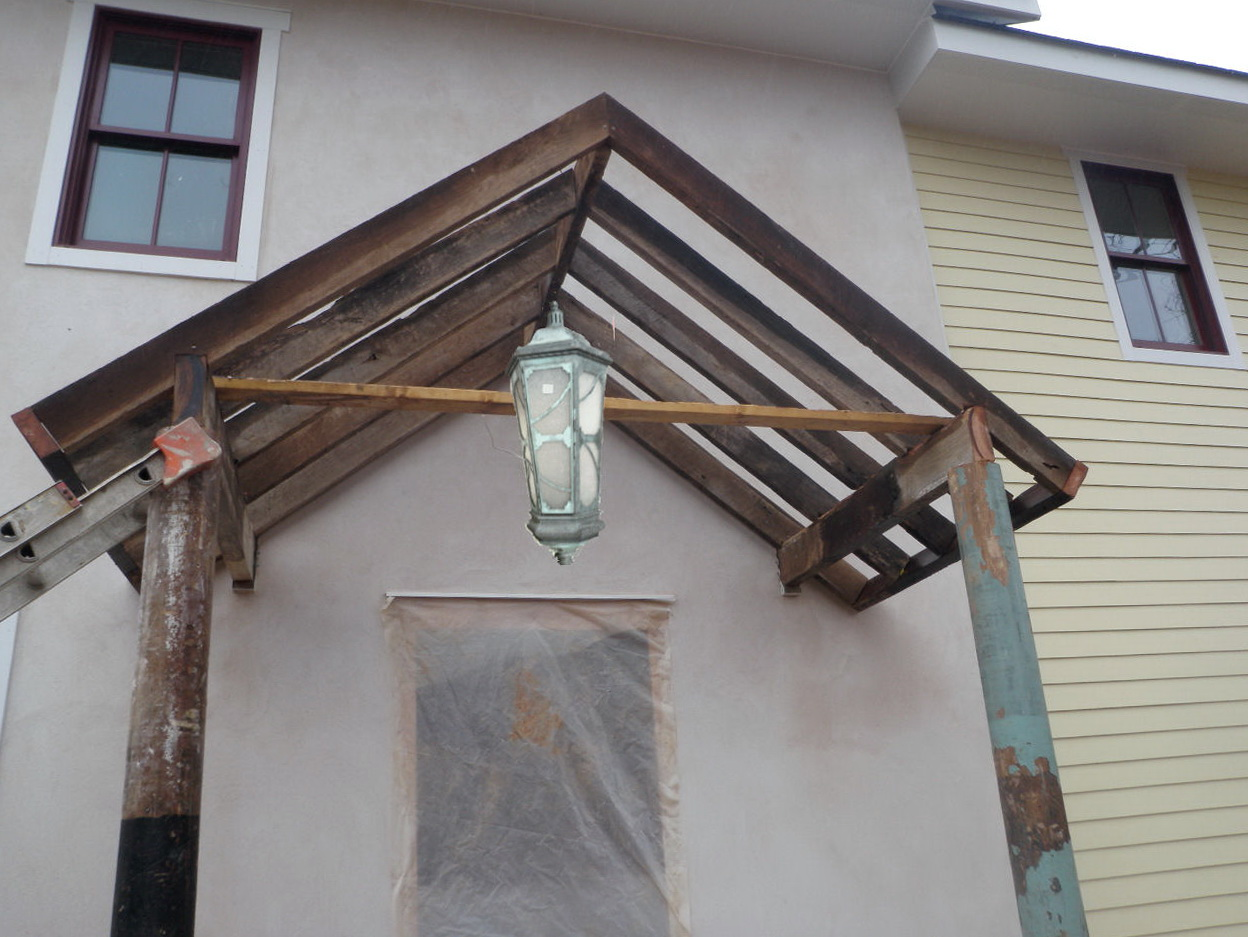 Gable Porch Roof Framing