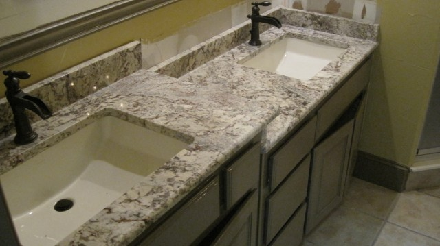 Granite Bathroom Vanity Tops With Sink