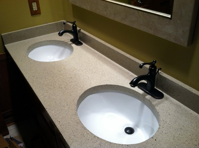 Granite Vanity Tops With Double Sinks