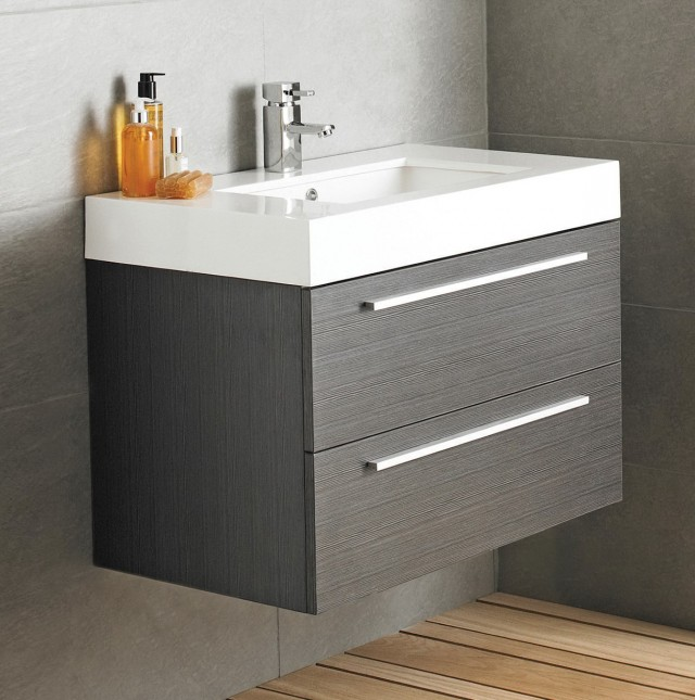 Grey Bathroom Vanity Unit