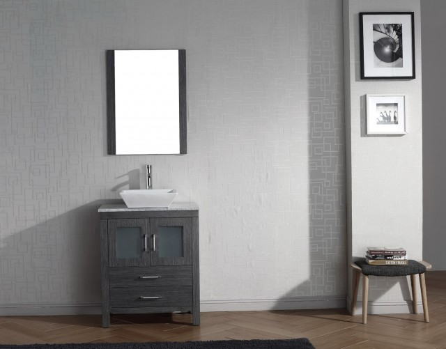 Grey Single Bathroom Vanity