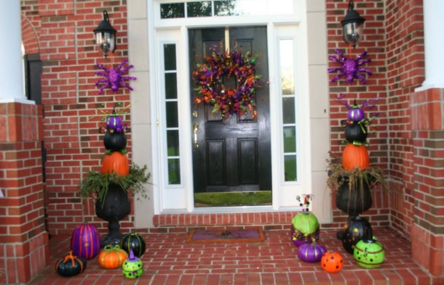 Halloween Porch Decorations Pinterest