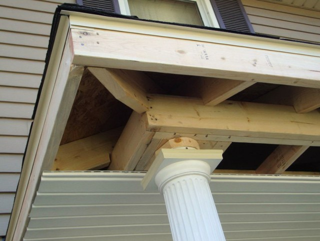 Hip Roof Porch Framing