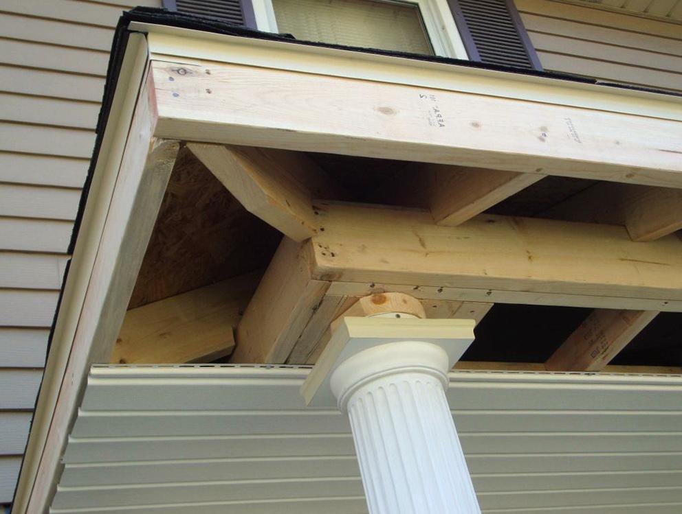 Hip Roof Porch Framing