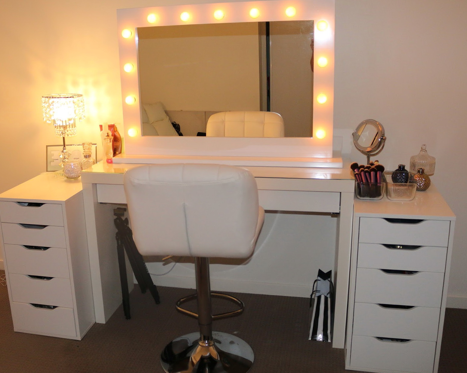 Hollywood Vanity Mirror With Lights Ikea