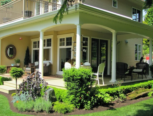 House Plans With Front And Side Porches