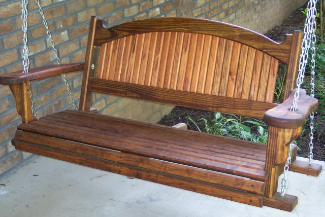 How To Build A Porch Swing Free Plans