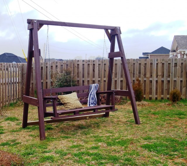 How To Build A Porch Swing Stand