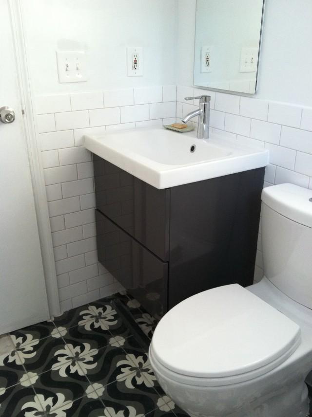 Ikea Bathroom Vanity Plumbing