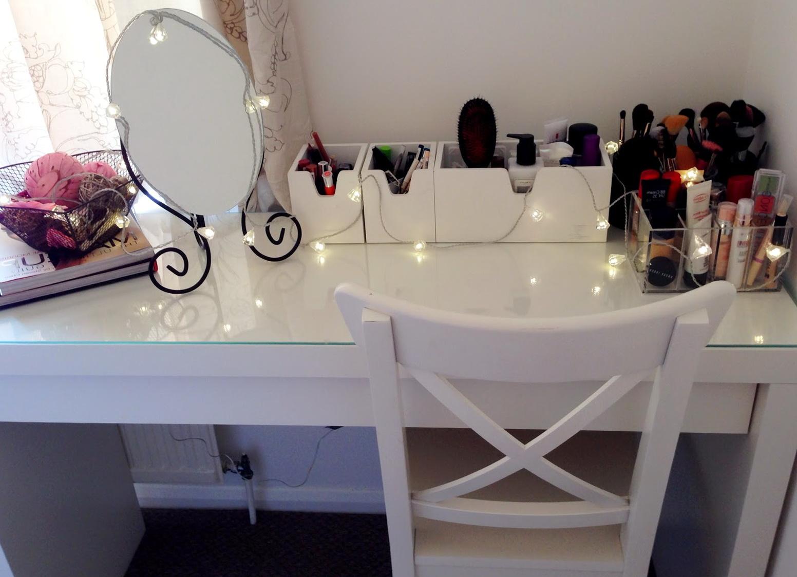 Ikea Malm Vanity Makeup Table