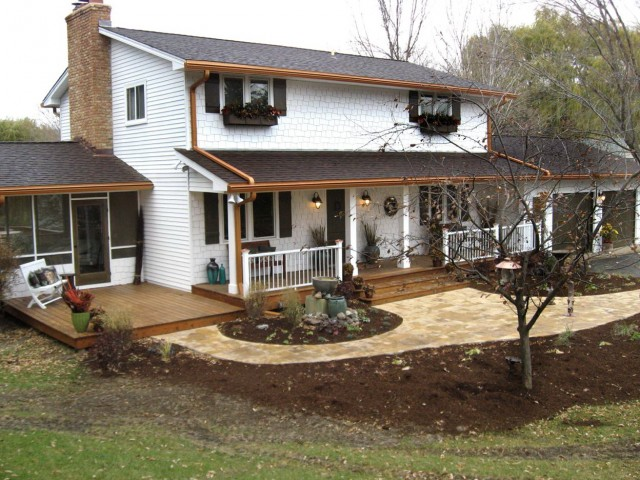 Images Of Front Porches On Split Level Homes