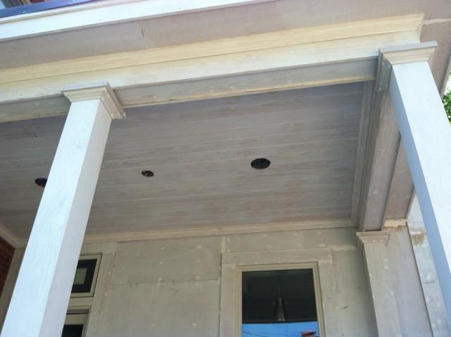 Light Blue Porch Ceiling