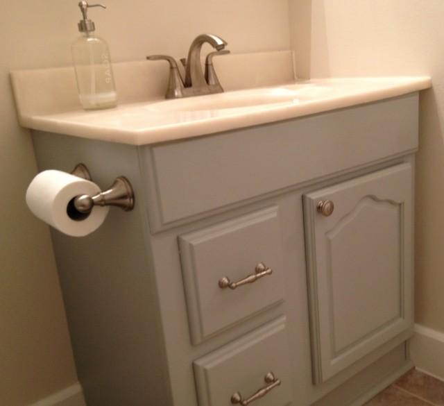 Light Gray Bathroom Vanity