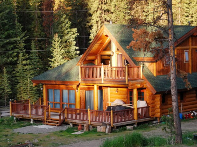 Log Cabin Porches And Decks
