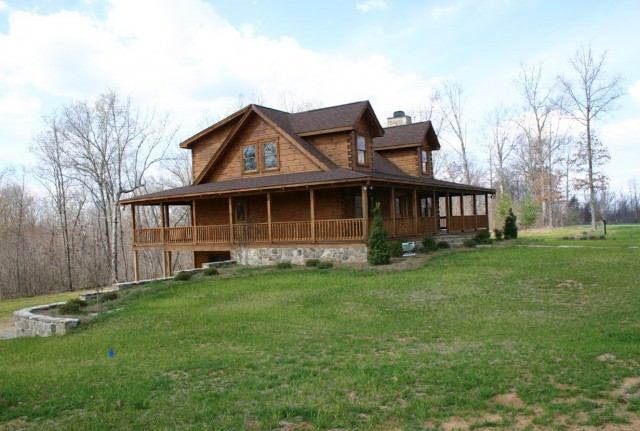 Log Homes With Wrap Around Porches