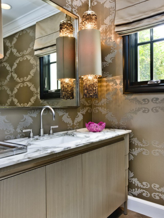 Luxury Powder Room Vanities