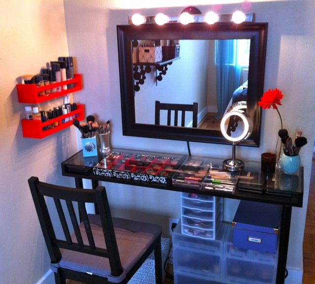 Makeup Vanity Set Up Ideas