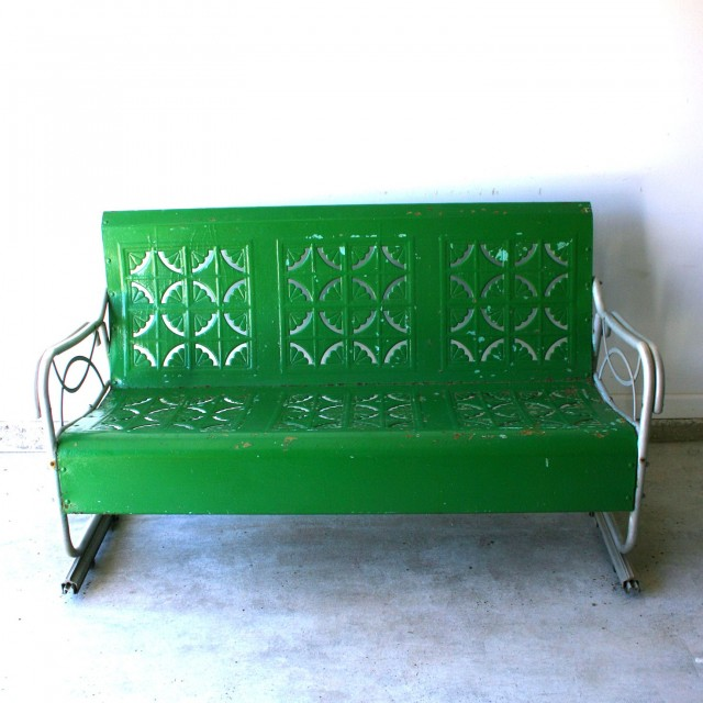 Metal Porch Glider For Sale