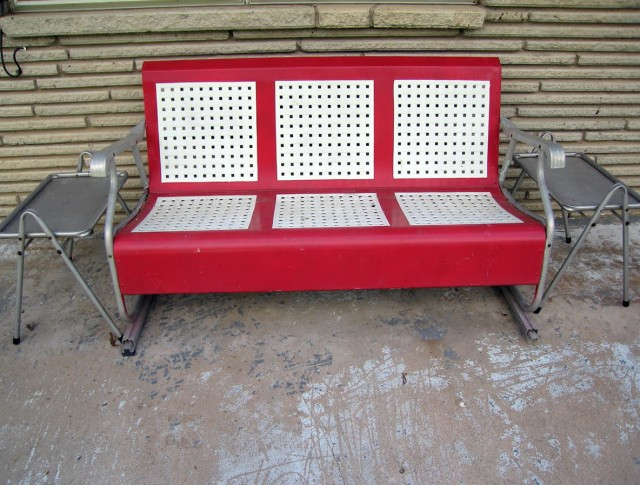 Metal Porch Glider Parts