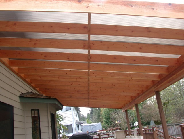 Metal Roof Over Porch