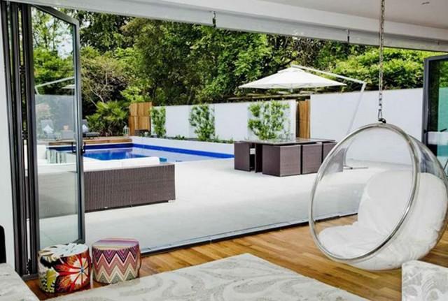 Modern Porch Swing Design