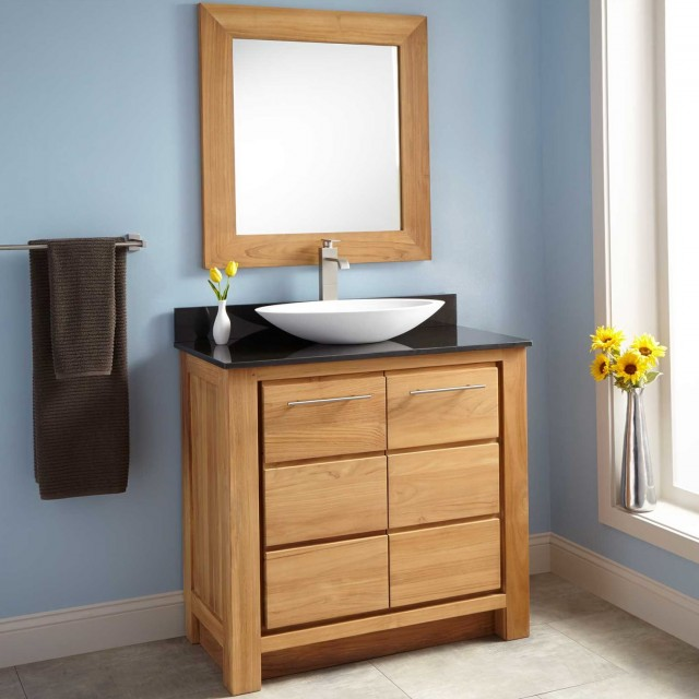 Narrow Depth Bathroom Vanities And Sinks