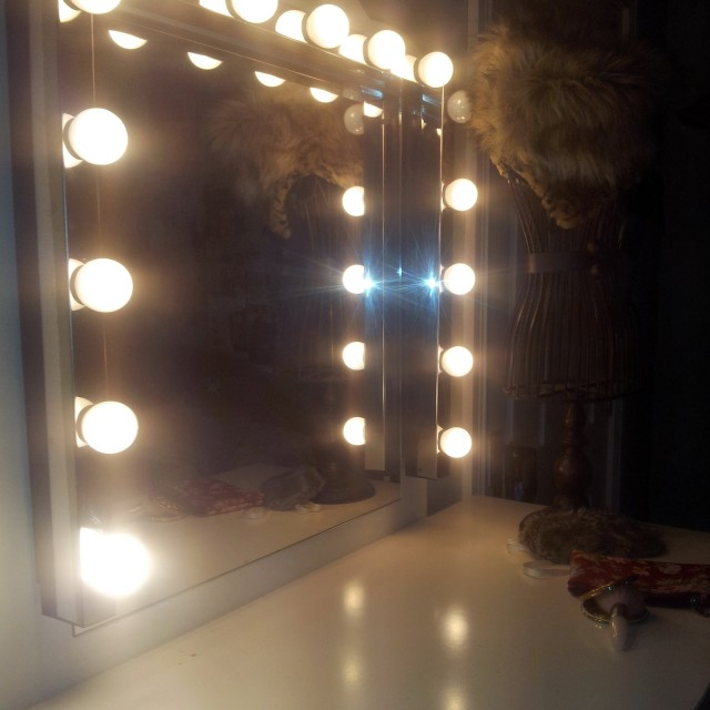 Old Hollywood Vanity Mirror