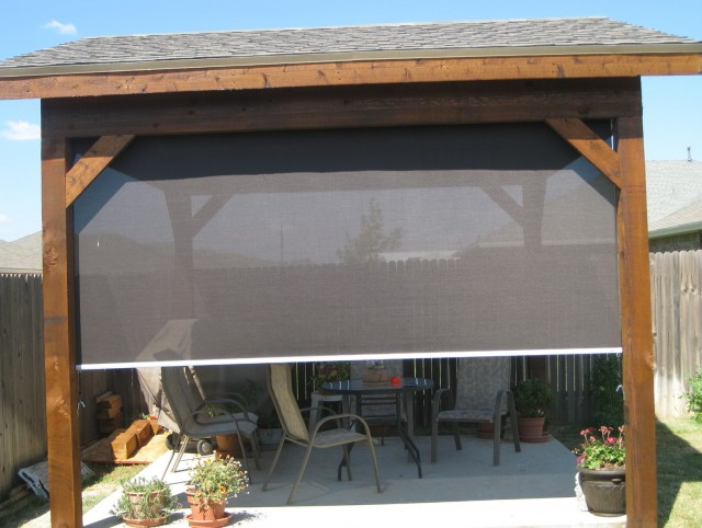 Outdoor Blinds For Porch Home Depot