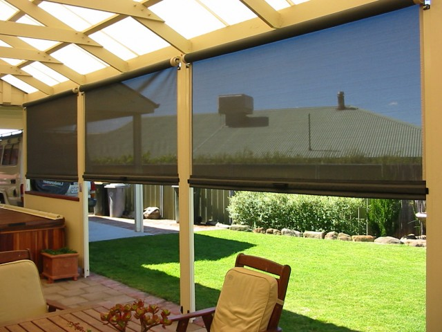 Outdoor Porch Shades And Blinds