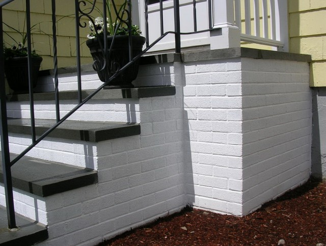 Painting Concrete Porch Steps