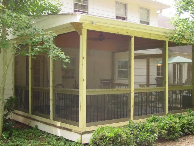 Pictures Of Screened Porch Design Ideas