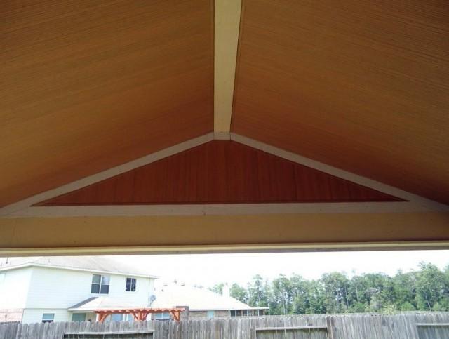 Porch Ceiling Vinyl Beadboard