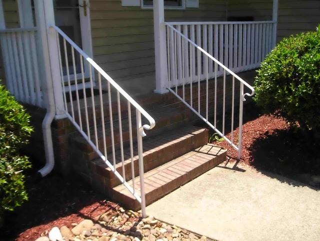 Porch Stair Railings Metal