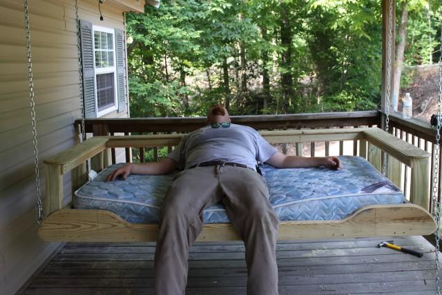 Porch Swing Beds Charleston