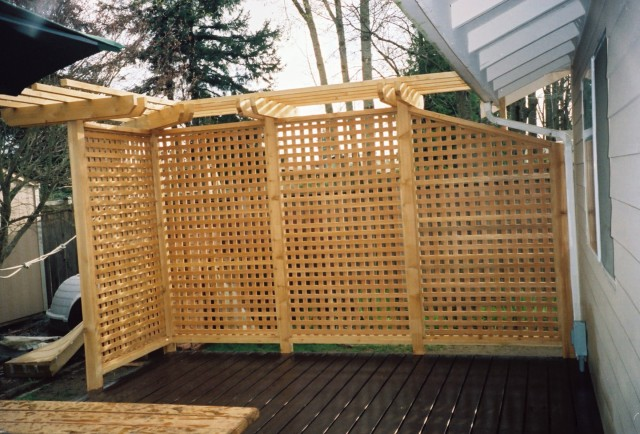 Privacy Screen For Back Porch