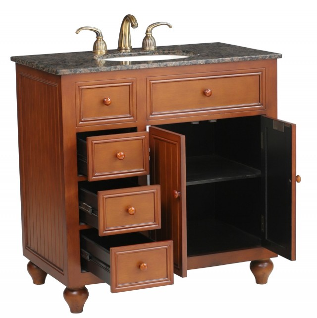 Rustic Bathroom Vanities 36 Inch