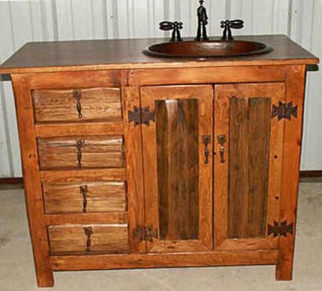 Rustic Bathroom Vanities Nz