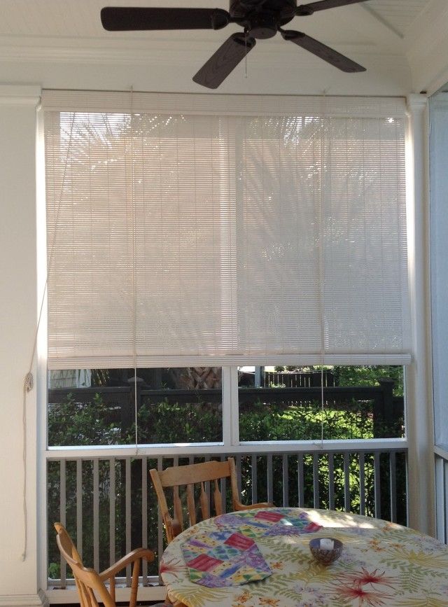 Screen Porch Blinds Outdoor