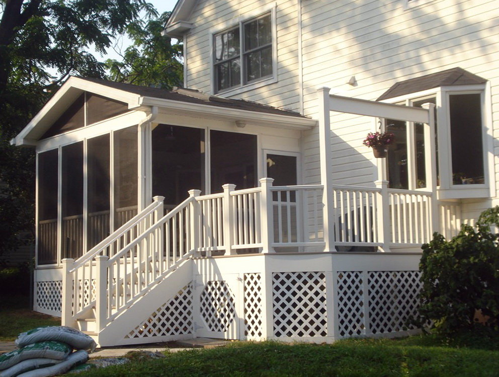 Screen Porch Kit Lowes Home Design Ideas